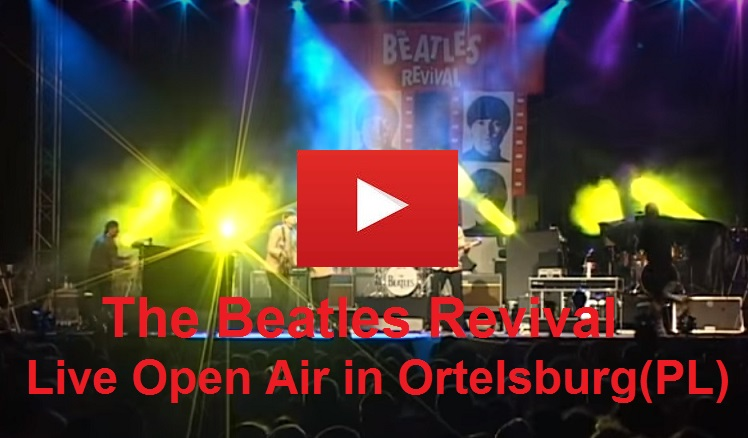 The Beatles Revival Live Open Air Concert in Ortelsburg(PL)