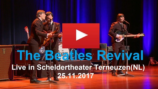 The Beatles Revival Live in Scheldetheater Terneuzen(NL)